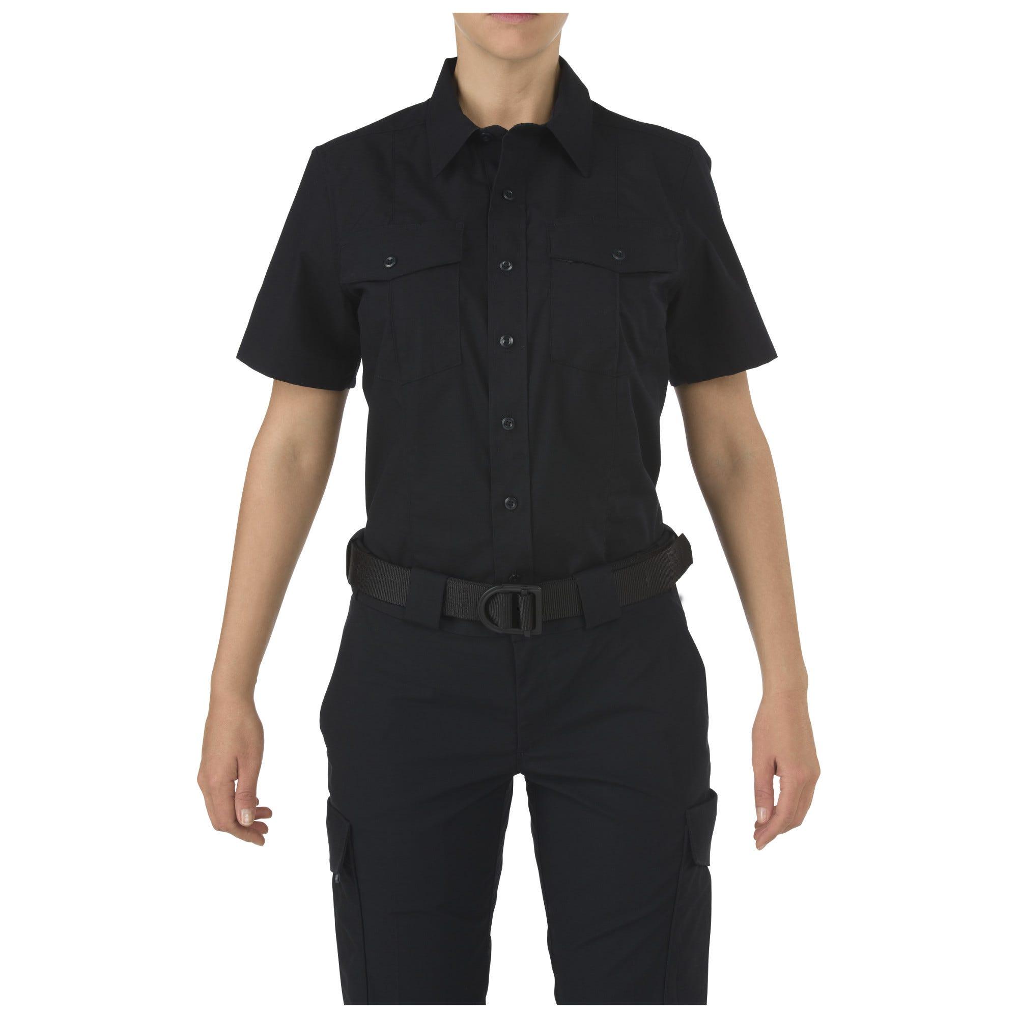 Women's 5.11 Stryke Class-A PDU Short Sleeve Shirt from 5.11 Tactical (Blue)