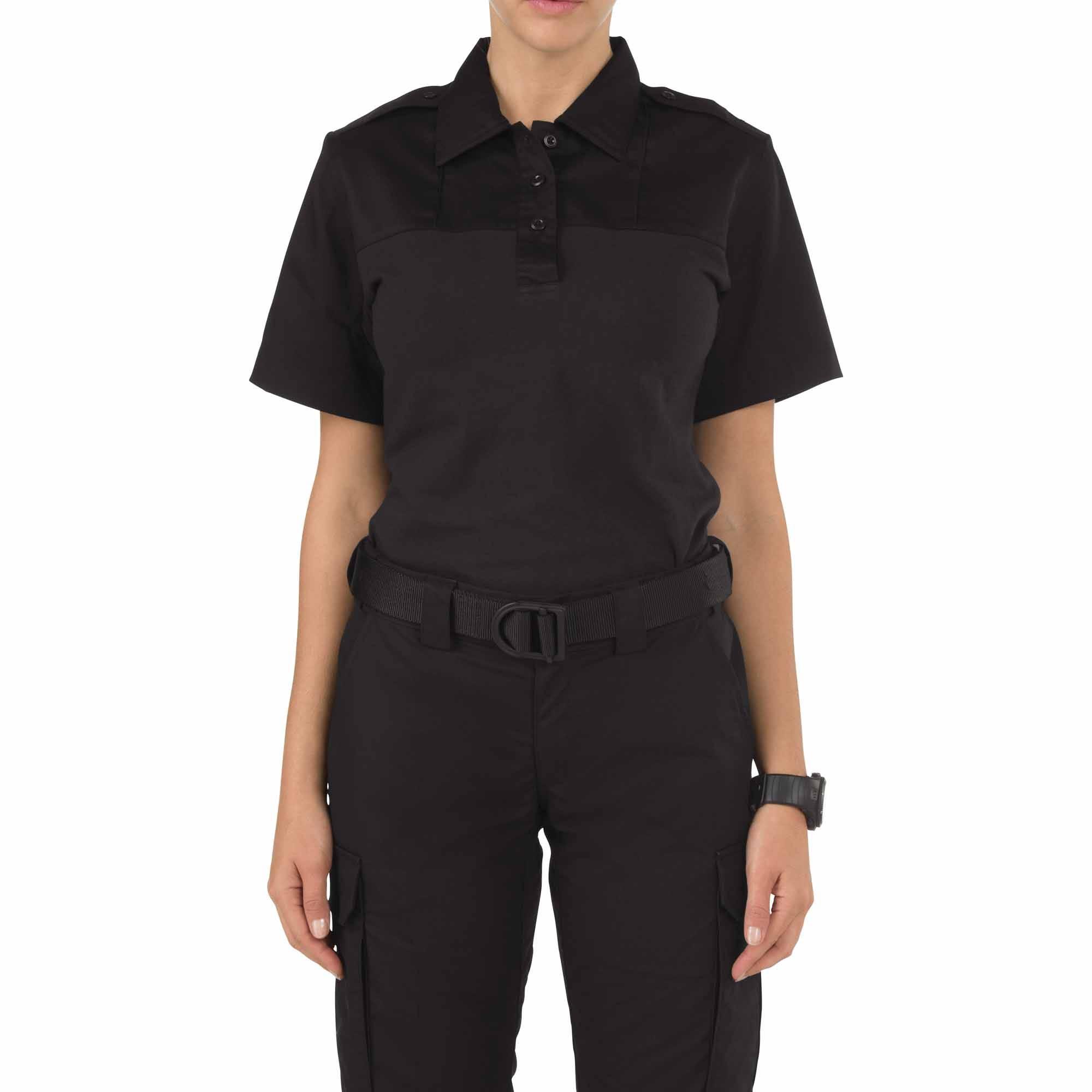 5.11 Tactical Women's Rapid PDU Short Sleeve Shirt (Black)