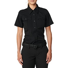 Women's Class A Flex-Tac® Poly/Wool Twill Short Sleeve Shirt