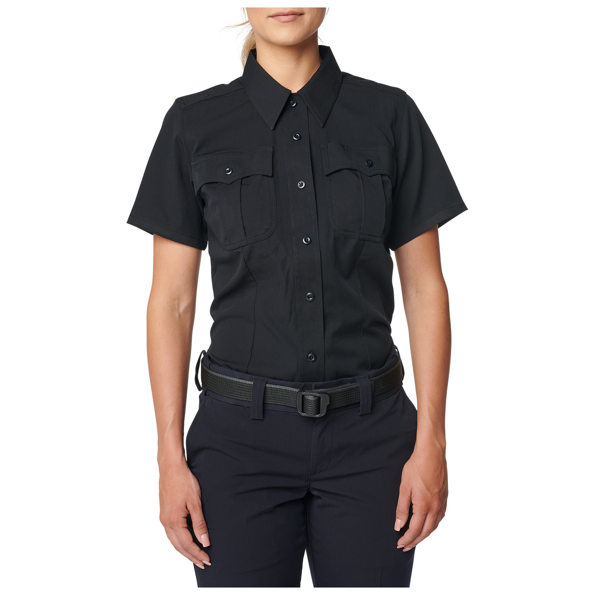 5.11 Tactical Women's Womens Class A Flex Tac Poly/Wool Twill Short Sleeve Shirt