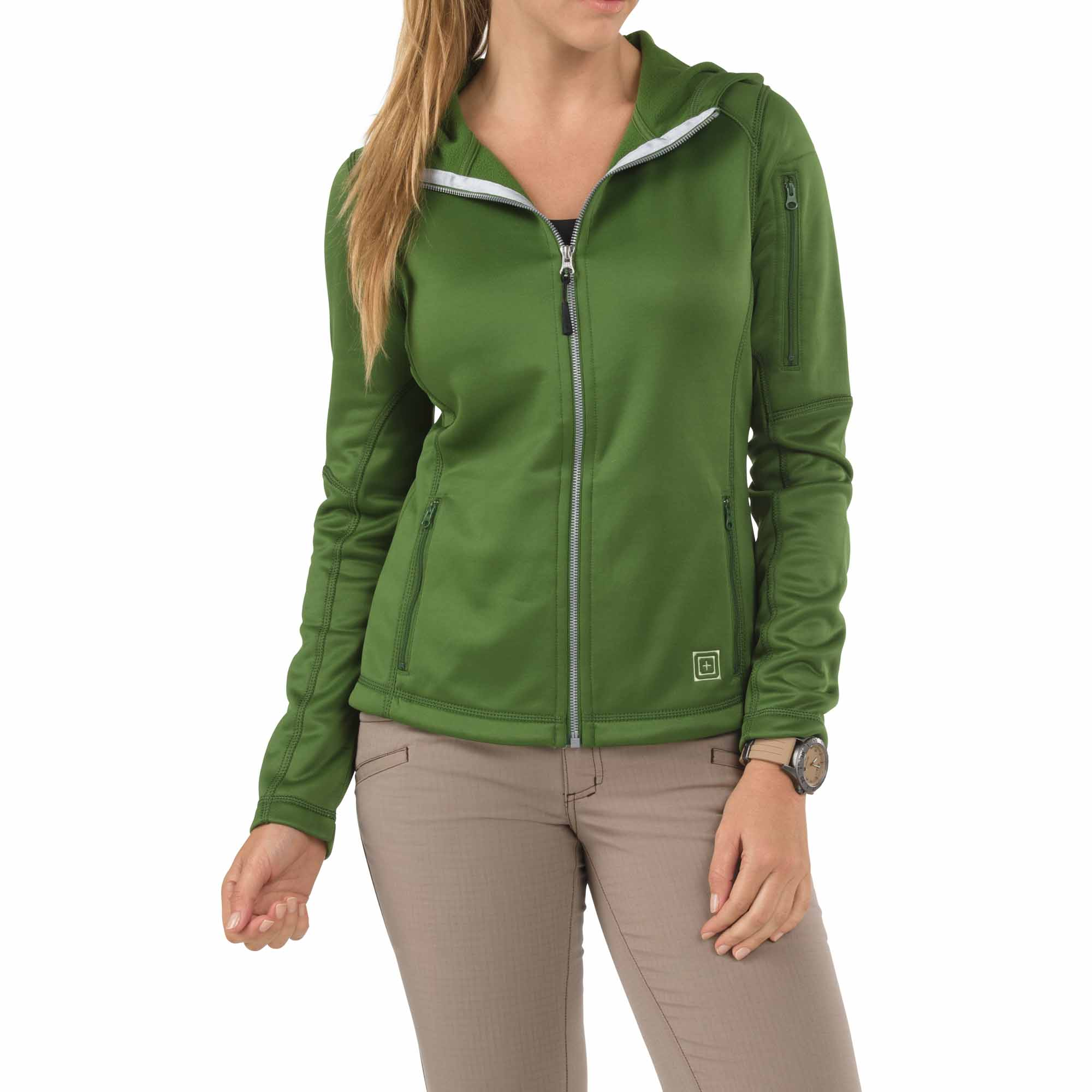 5.11 Tactical Women's Women's Horizon Hoodie (Green)