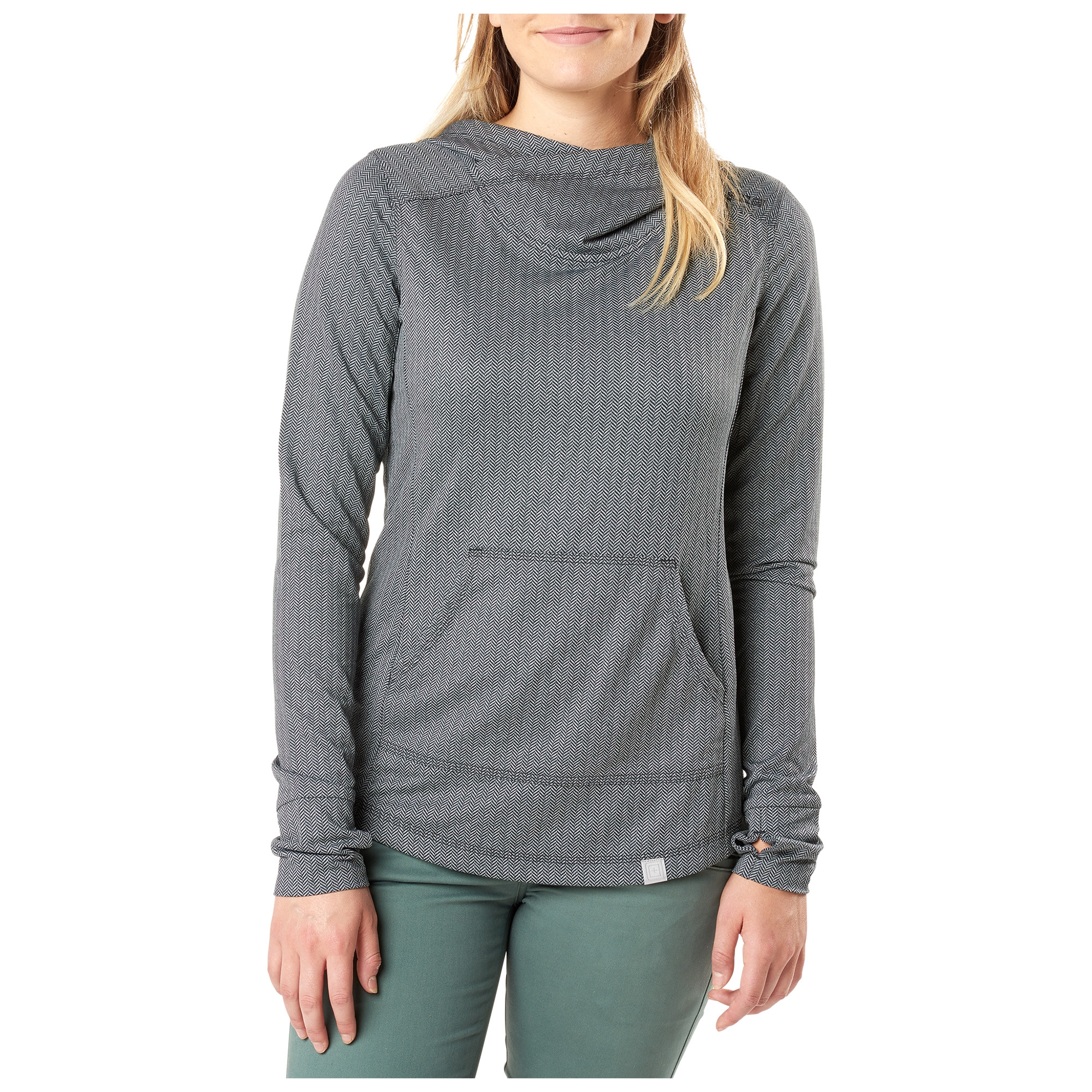 5.11 Tactical Women's Aphrodite Hooded Pullover (Black)