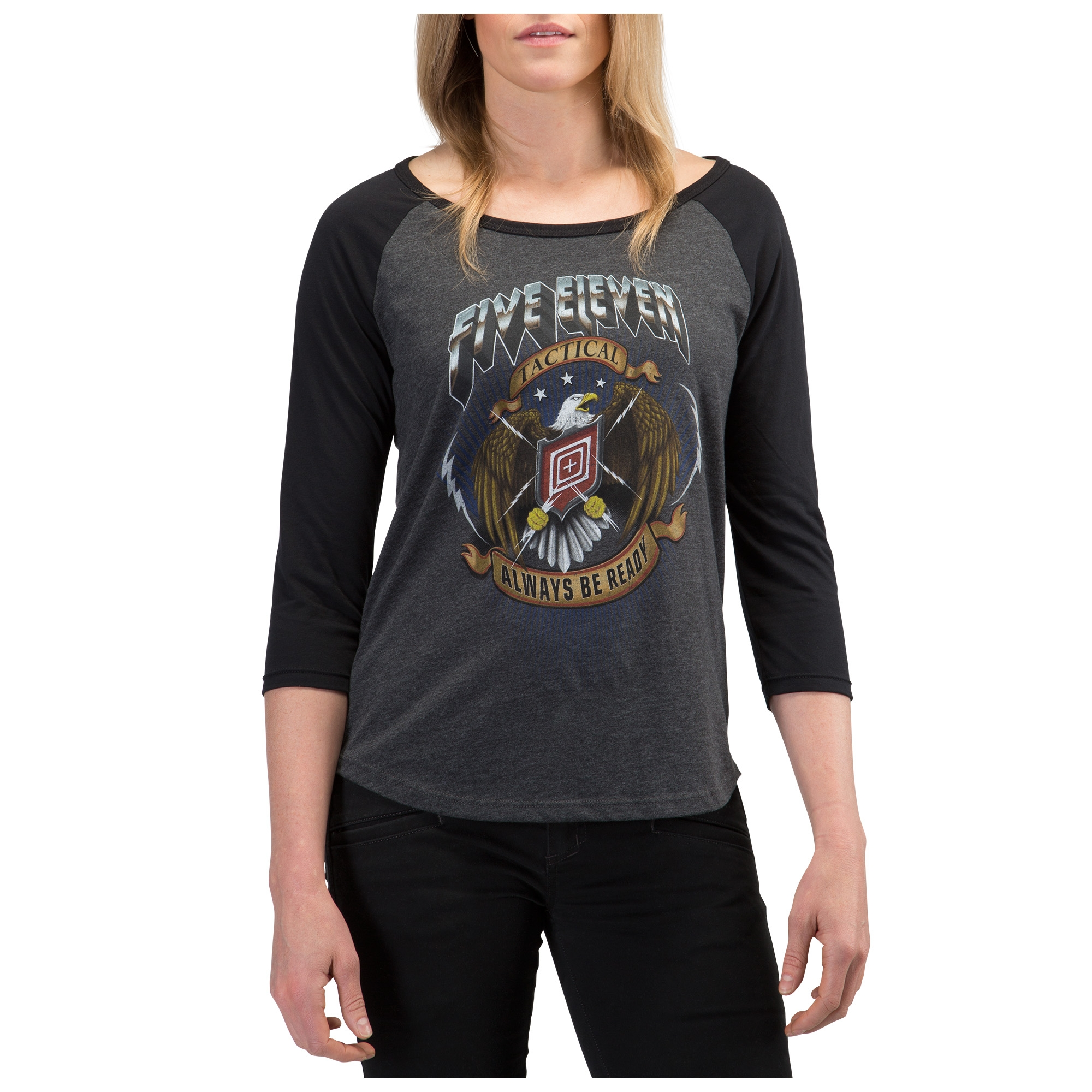 5.11 Tactical Women's Eagle Strike Tee (Black)