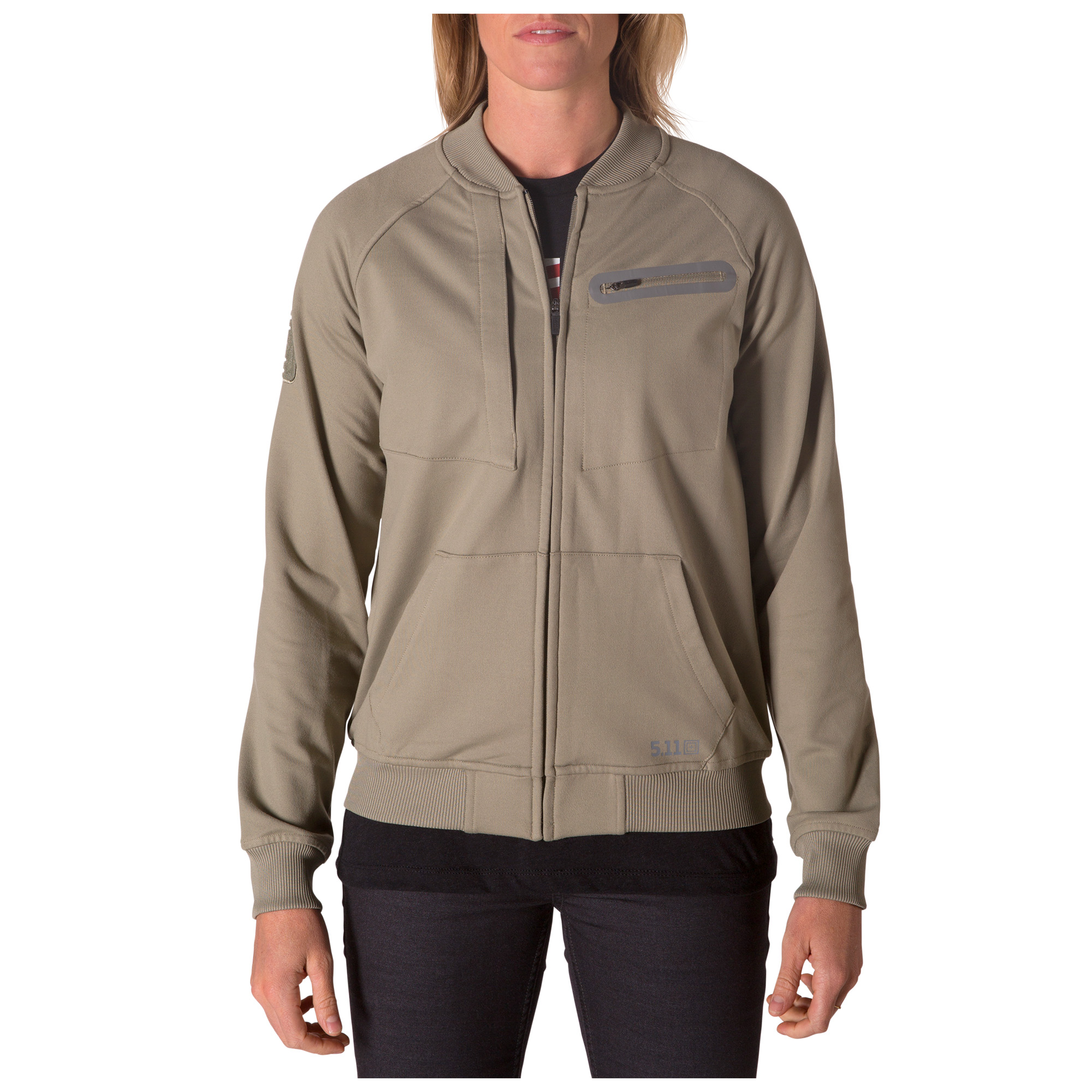 5.11 Tactical Women's Charisma Bomber Jacket (Grey)