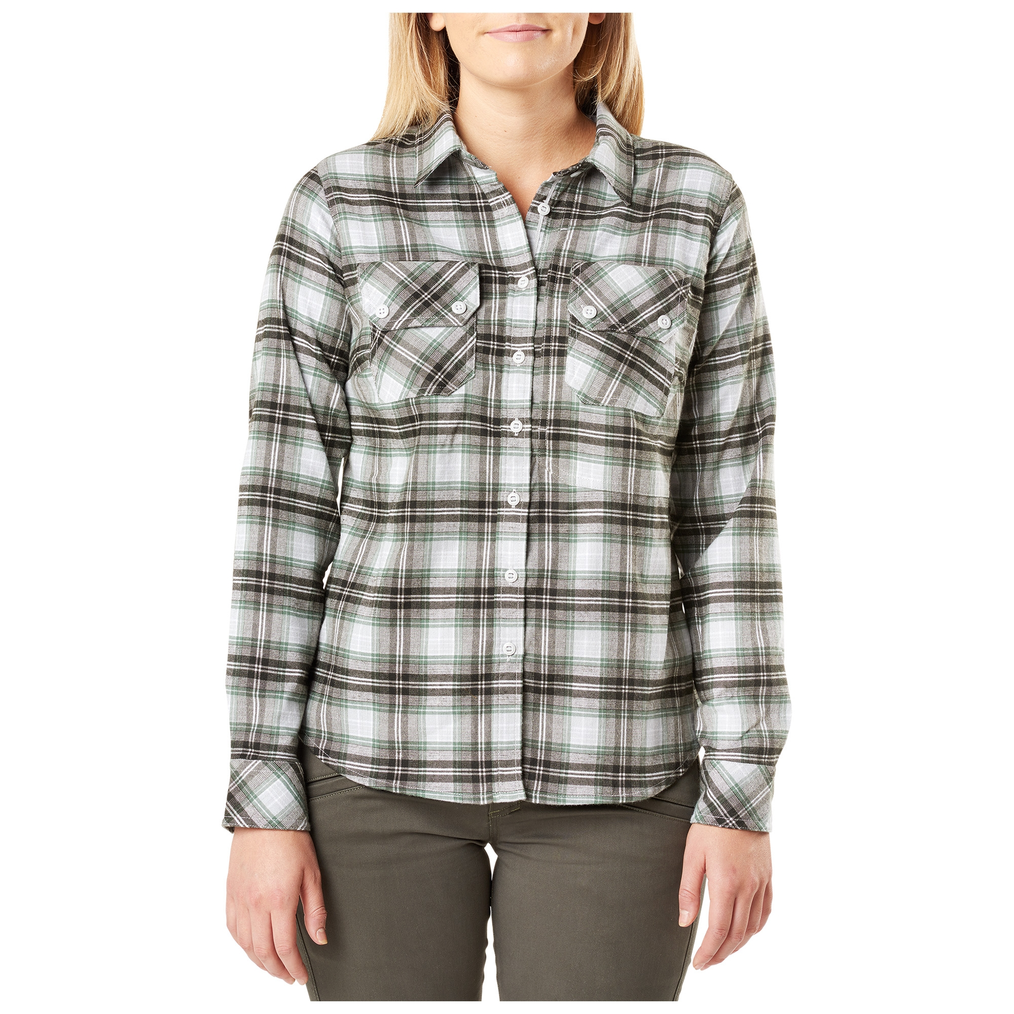 5.11 Tactical Women's Hera Flannel (Green)
