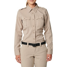 Women's Class A Flex-Tac® Poly/Wool Twill Long Sleeve Shirt