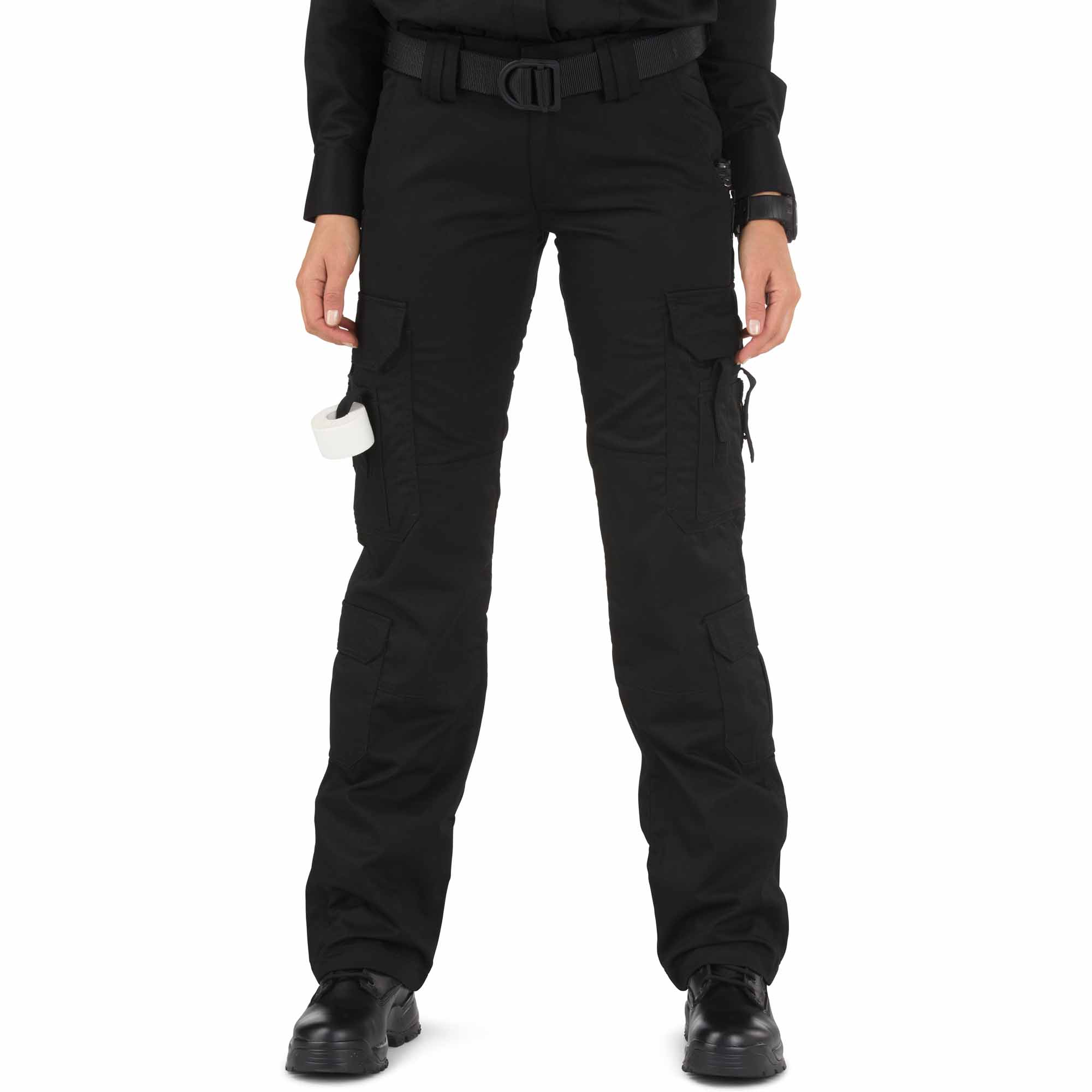 5.11 Tactical Women's TACLITE EMS Pant (Black), Size 10/Long (Cargo Pant) thumbnail