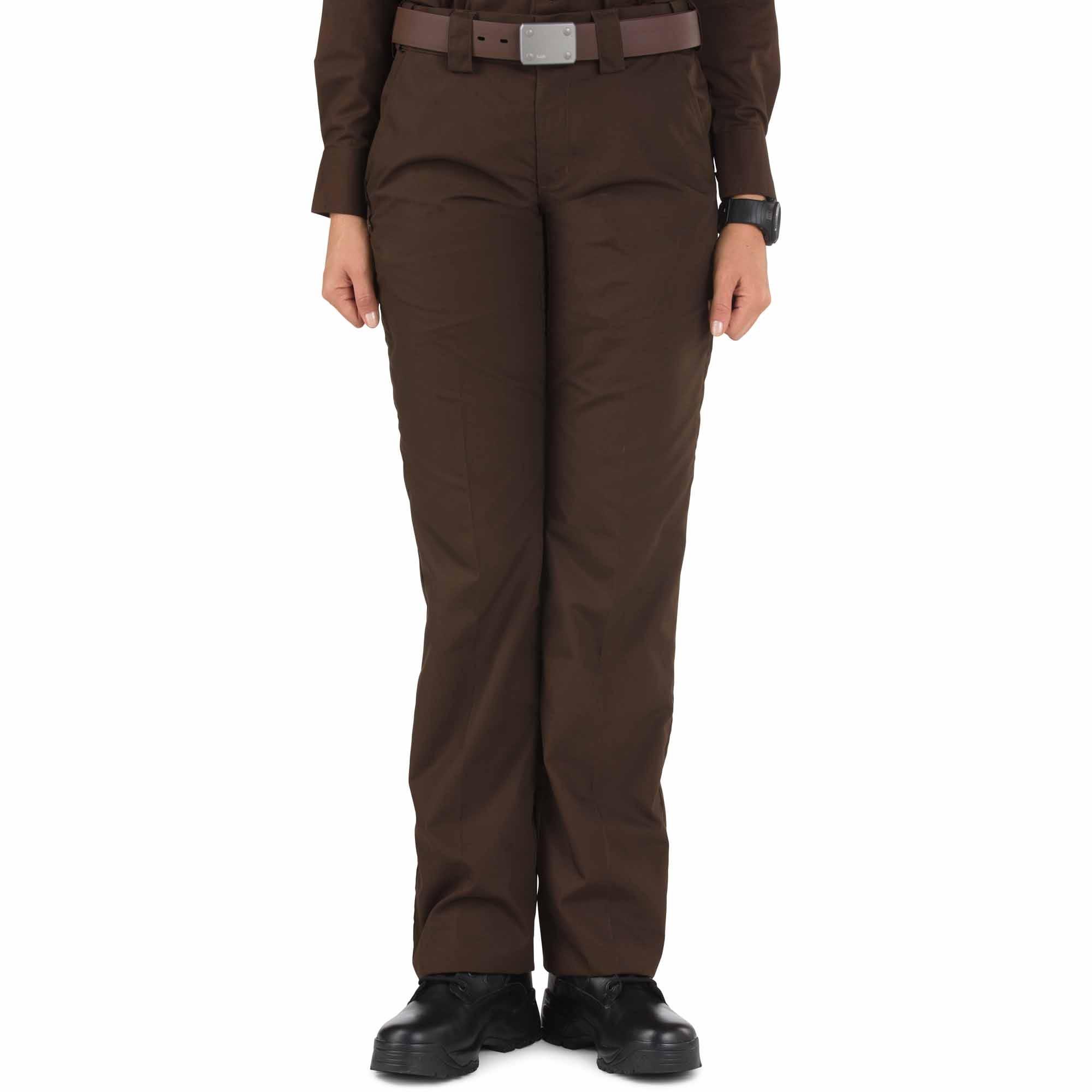 5.11 Tactical Taclite PDU Pants - A Class - Women's (Brown) thumbnail