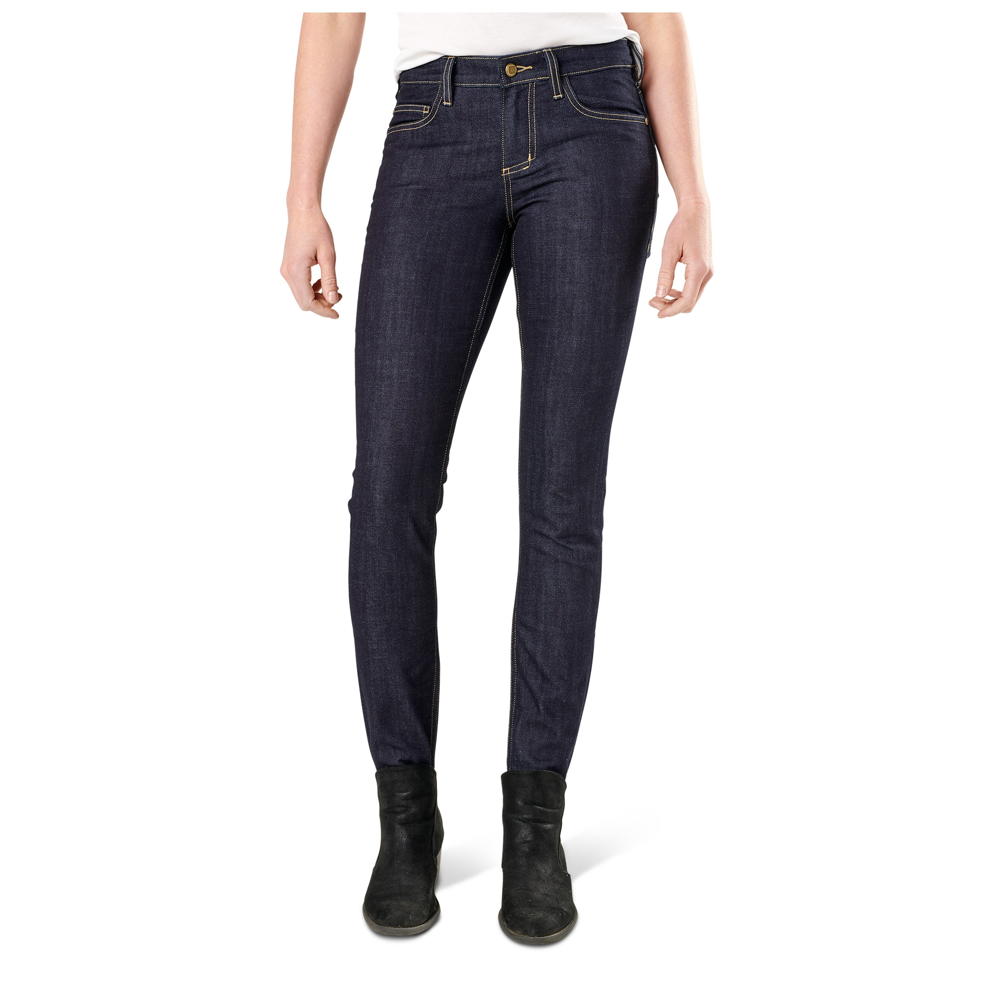 5.11 Tactical Women Women's Defender-Flex Slim Jean (Blue)