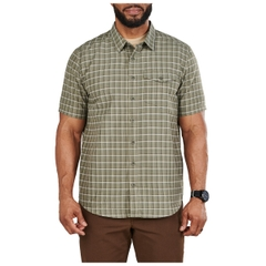 Aiden Short Sleeve Plaid Shirt