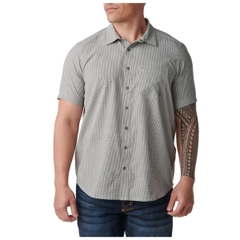 Omar Gingham Short Sleeve Shirt