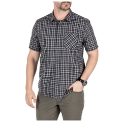 Carson Plaid Short Sleeve Shirt