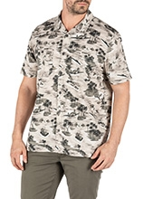 Tropi-Camo Short Sleeve Shirt