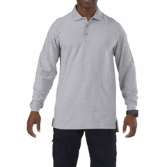 Utility Long Sleeve Polo