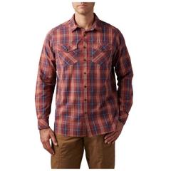 Gunner Plaid Long Sleeve Shirt