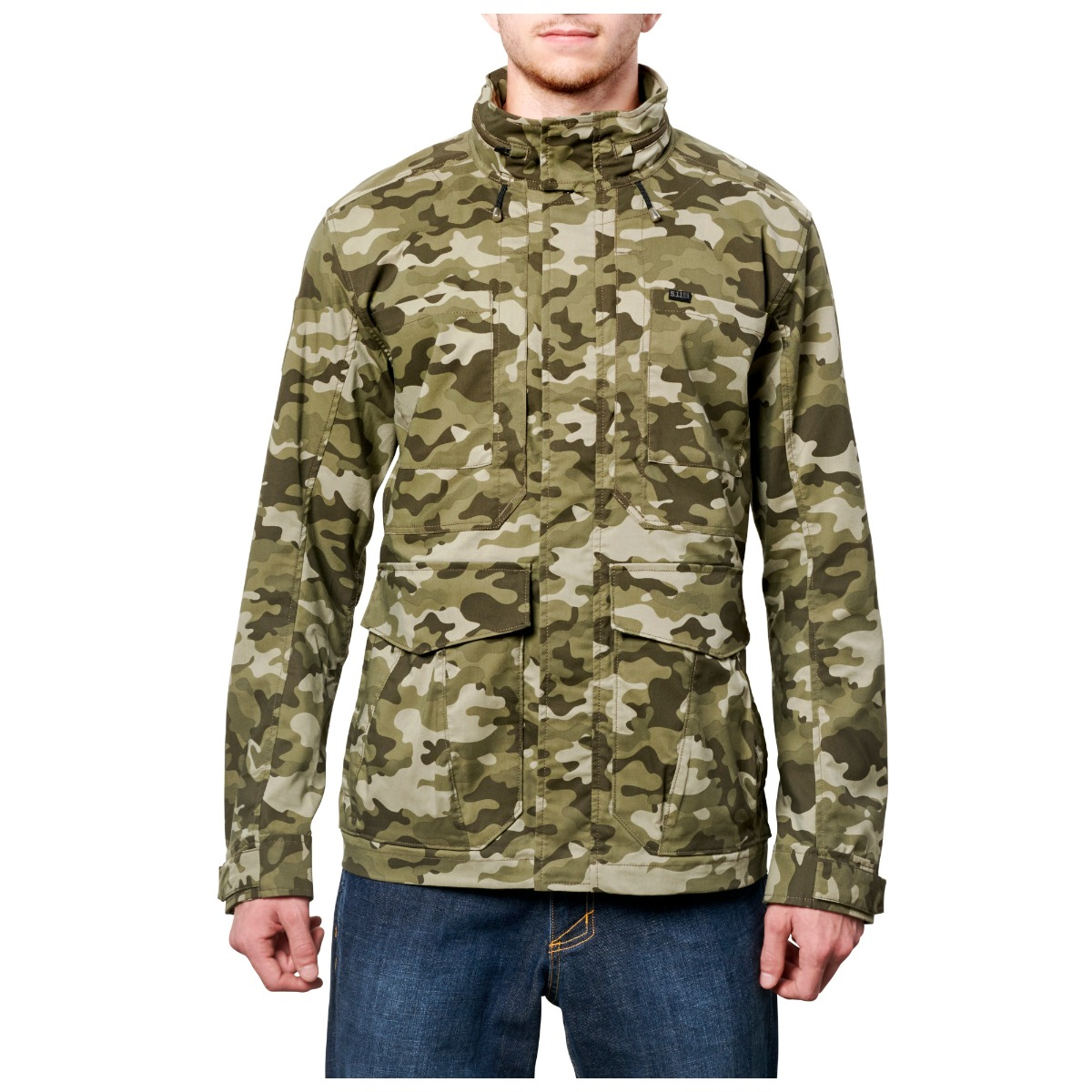 5.11 Tactical Men Surplus Camo Jacket