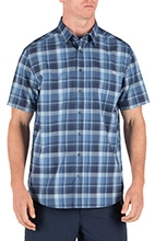 Hunter Plaid Short Sleeve Shirt