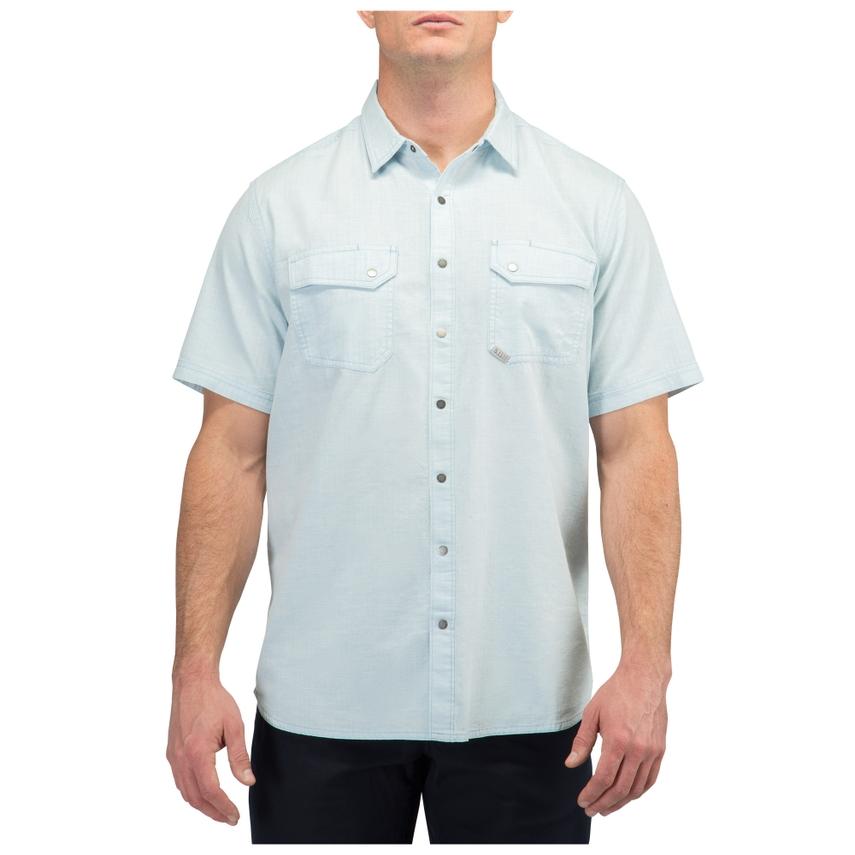 5.11 Tactical Men's Herringbone Short Sleeve Shirt