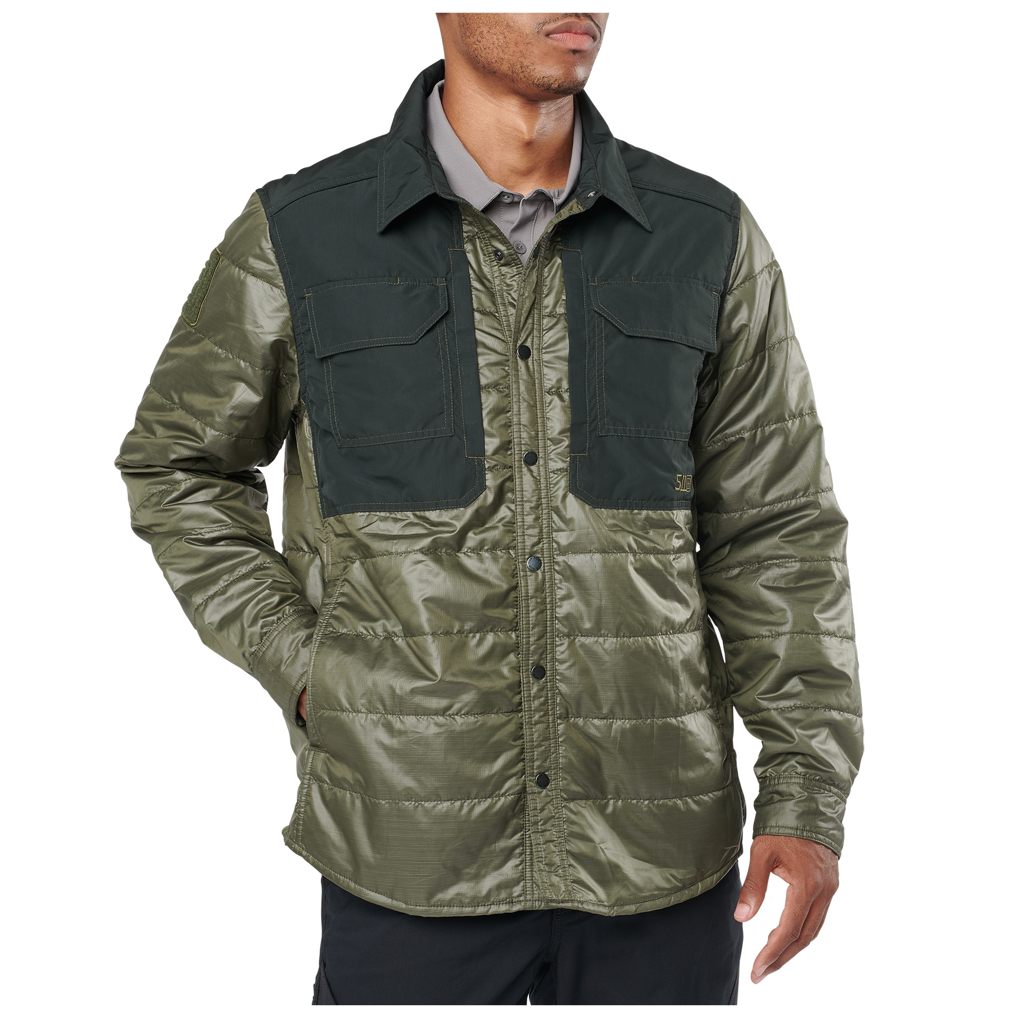 5.11 Tactical Men's Peninsula Insulator Shirt Jacket (Green)