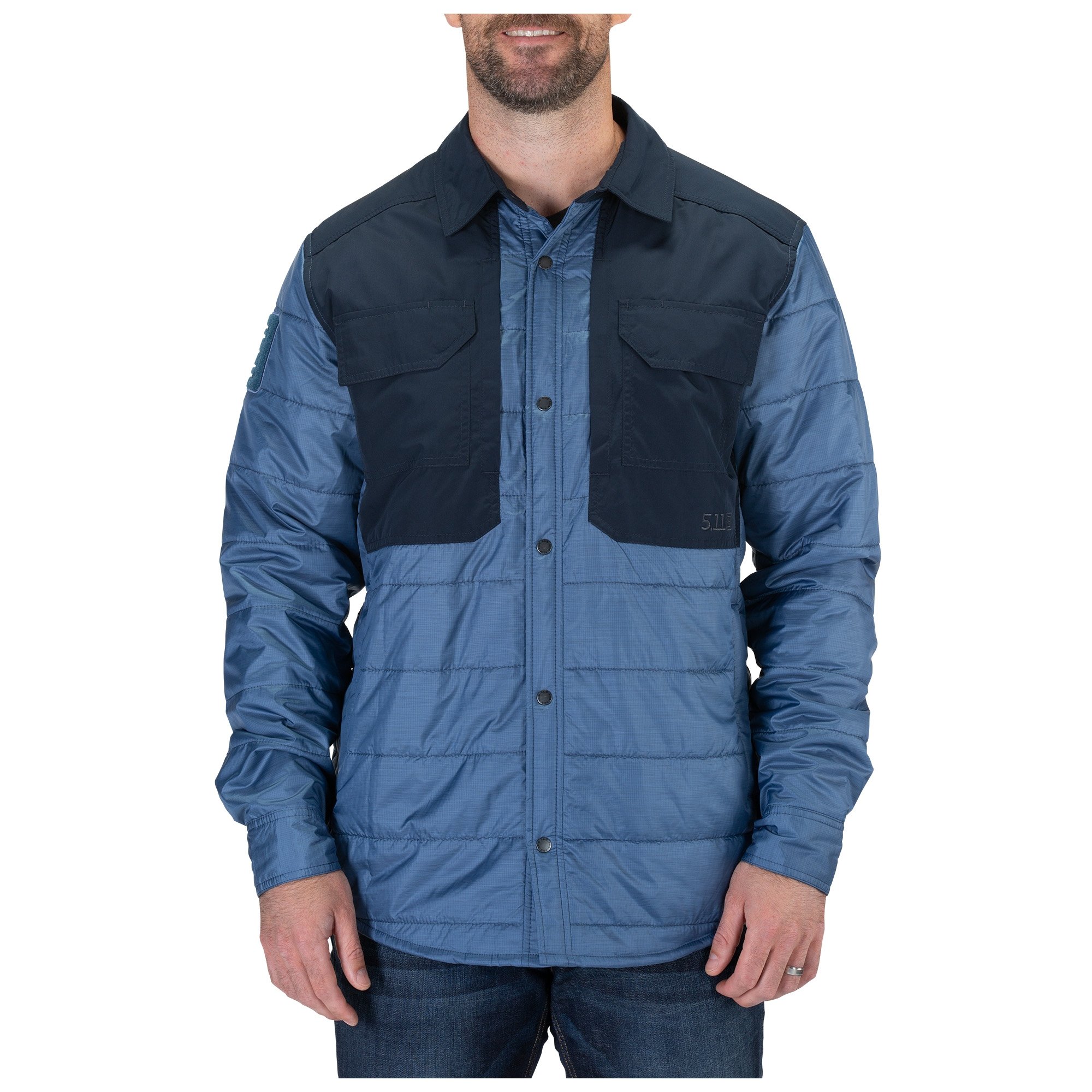 5.11 Tactical Men's Peninsula Insulator Shirt Jacket, Size S (CCW Concealed Carry)