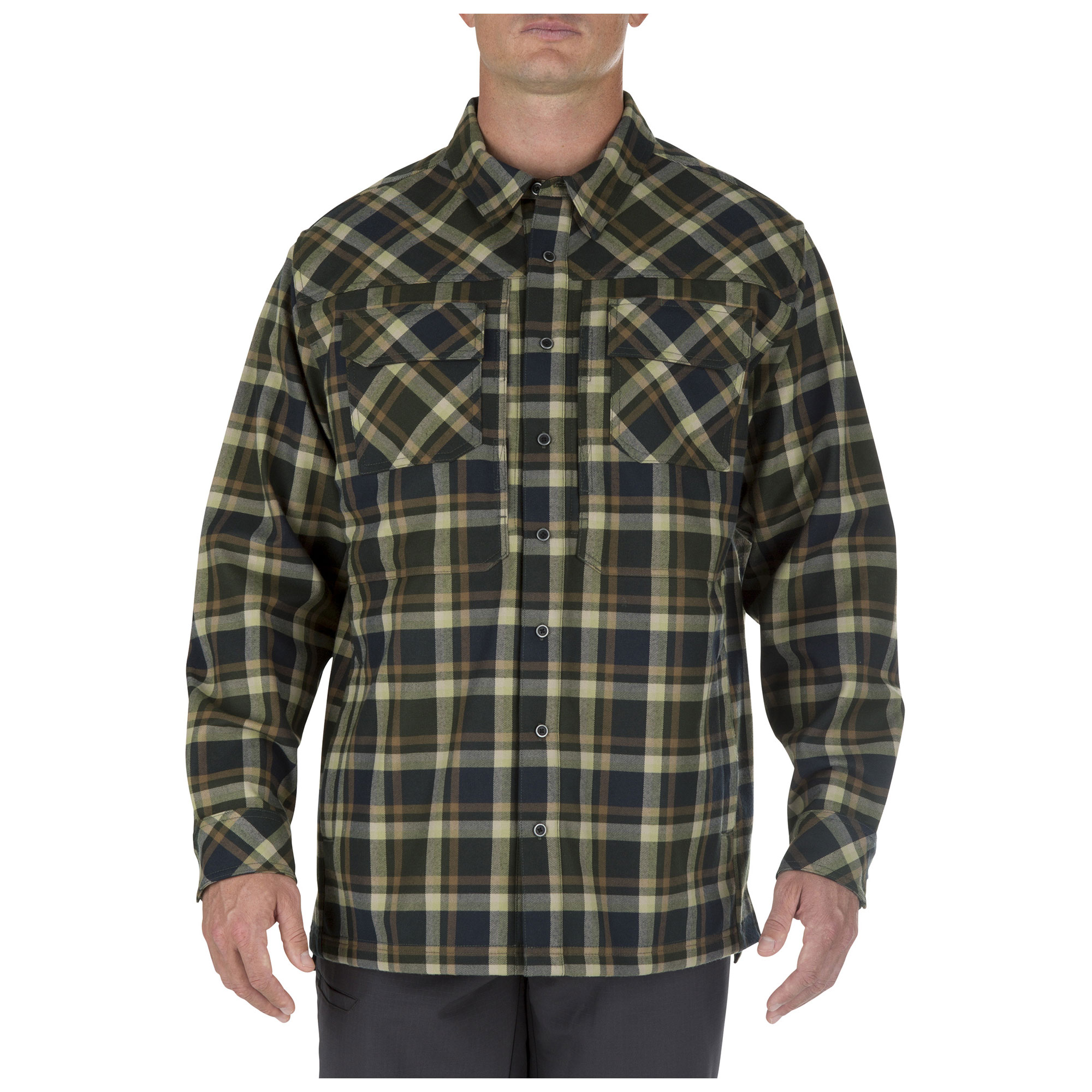 5.11 Tactical Men's Firecracker Jacket (Green), Size S (CCW Concealed Carry) thumbnail