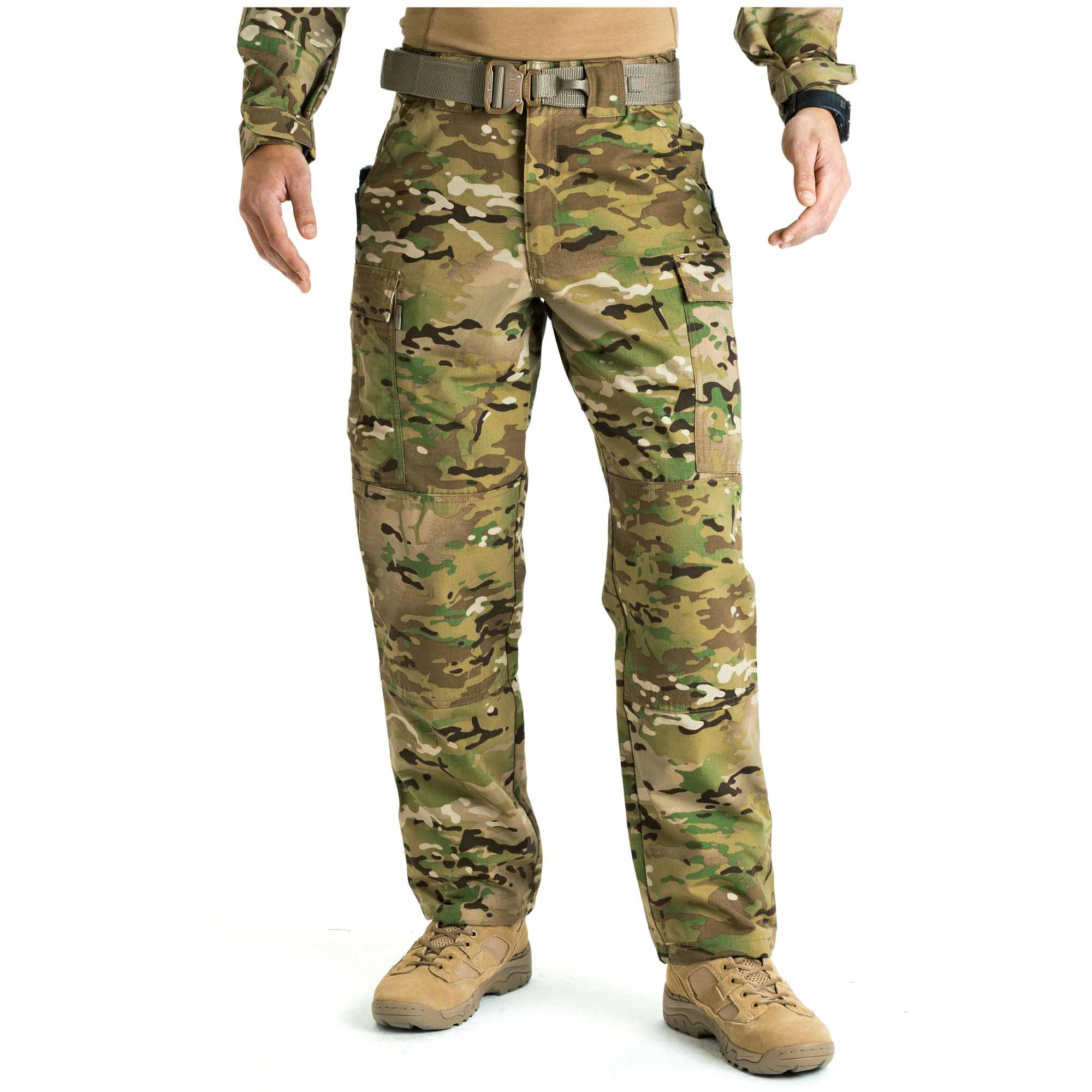 5.11 Tactical Men's MultiCam TDU Pant (Camo;Multi), Size 3XL/Long (Cargo Pant) thumbnail