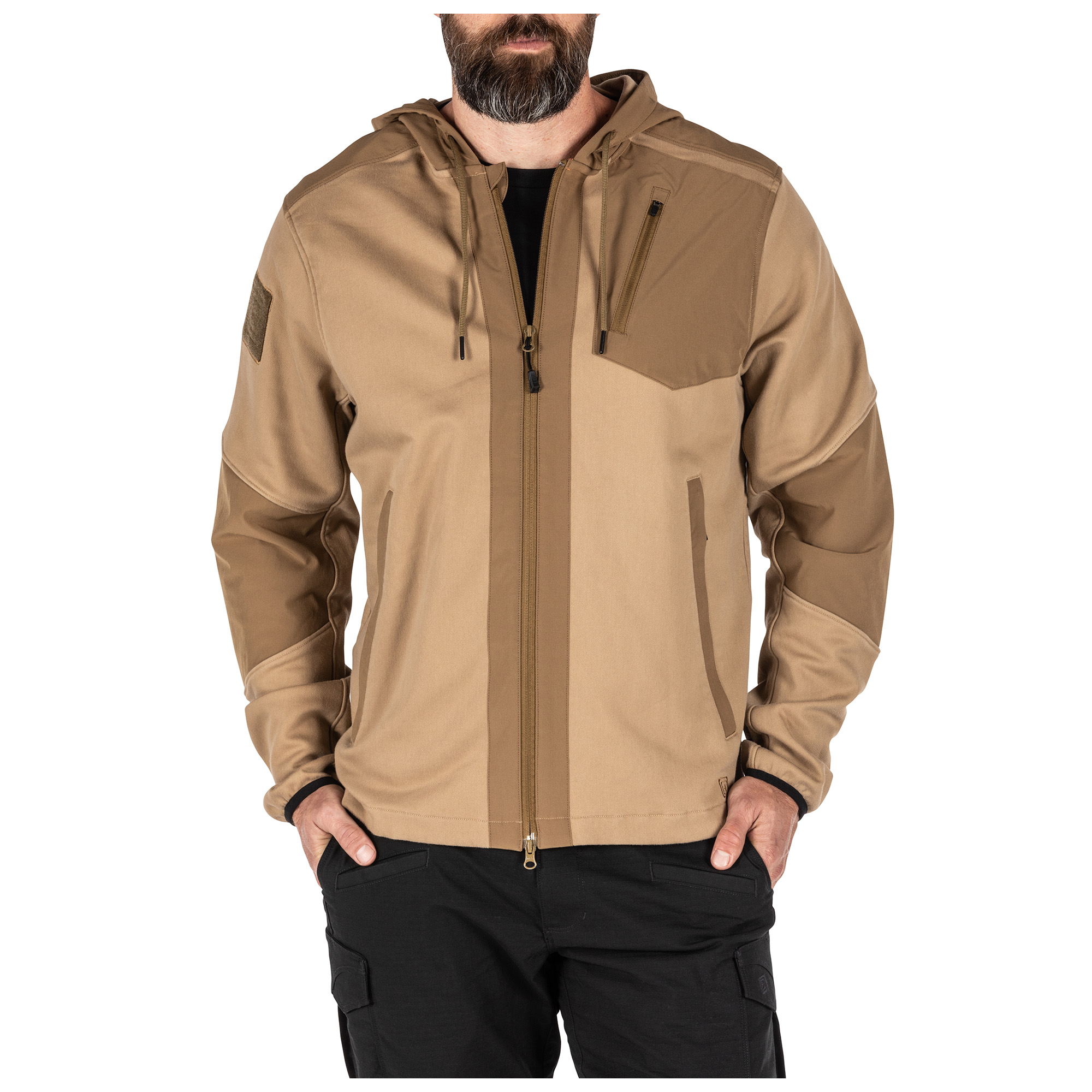 5.11 Tactical Men's Rappel Jacket (Khaki/Tan)