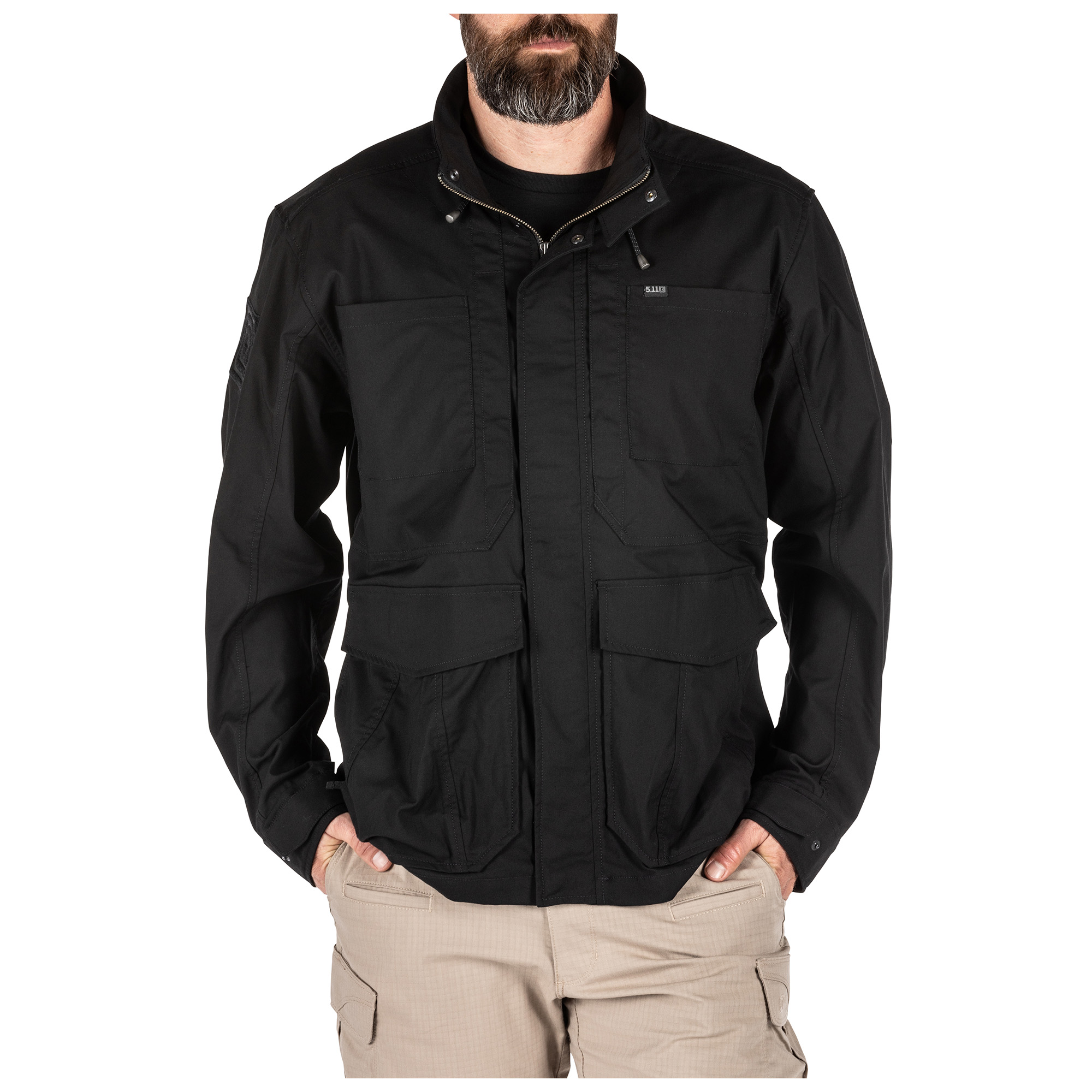 5.11 Tactical Men's Surplus Jacket (Black) thumbnail
