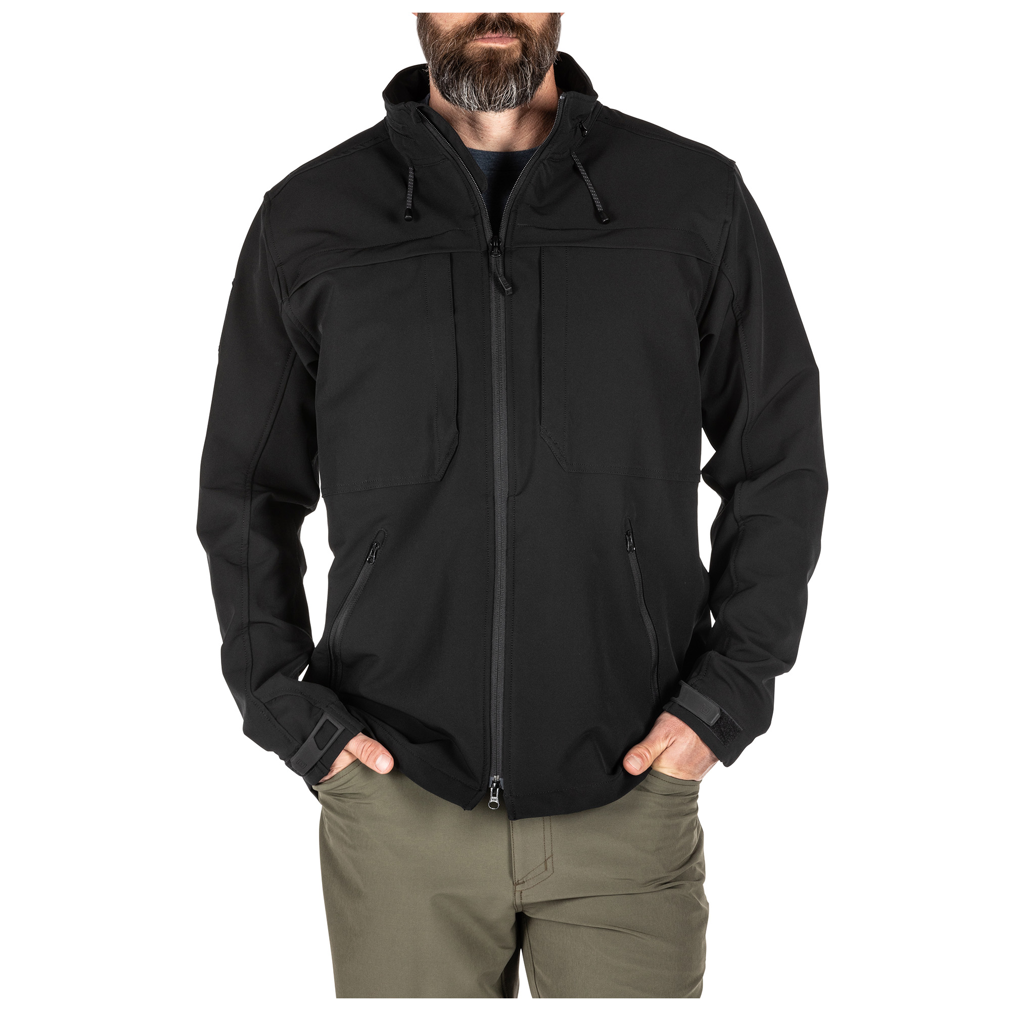 5.11 Tactical Men's Braxton Jacket (Black) thumbnail