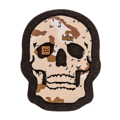 Painted Desert Camo Skull Patch