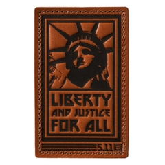 Liberty and Justice Patch