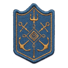 Anchor & Trident Patch