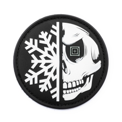 Snow Flake Skull Patch