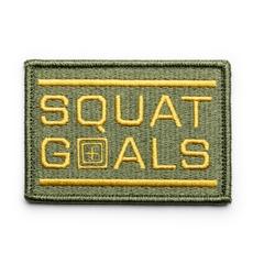 Squat Goals Patch