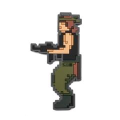 80's Pixel Warrior Patch