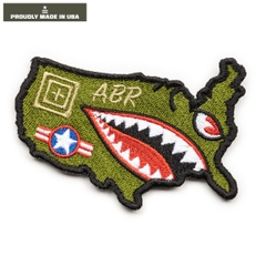 United Tiger Shark Patch