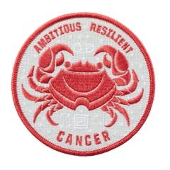 Cancer Zodiac Patch