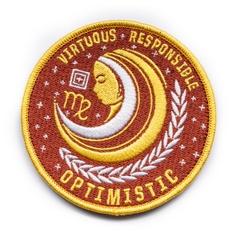 Virgo Zodiac Patch