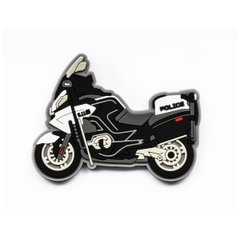 First Responder Moto Cop Patch