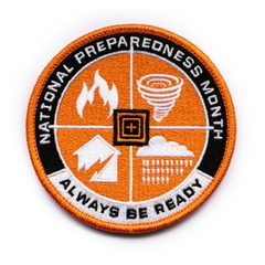 National Preparedness 2021 Patch