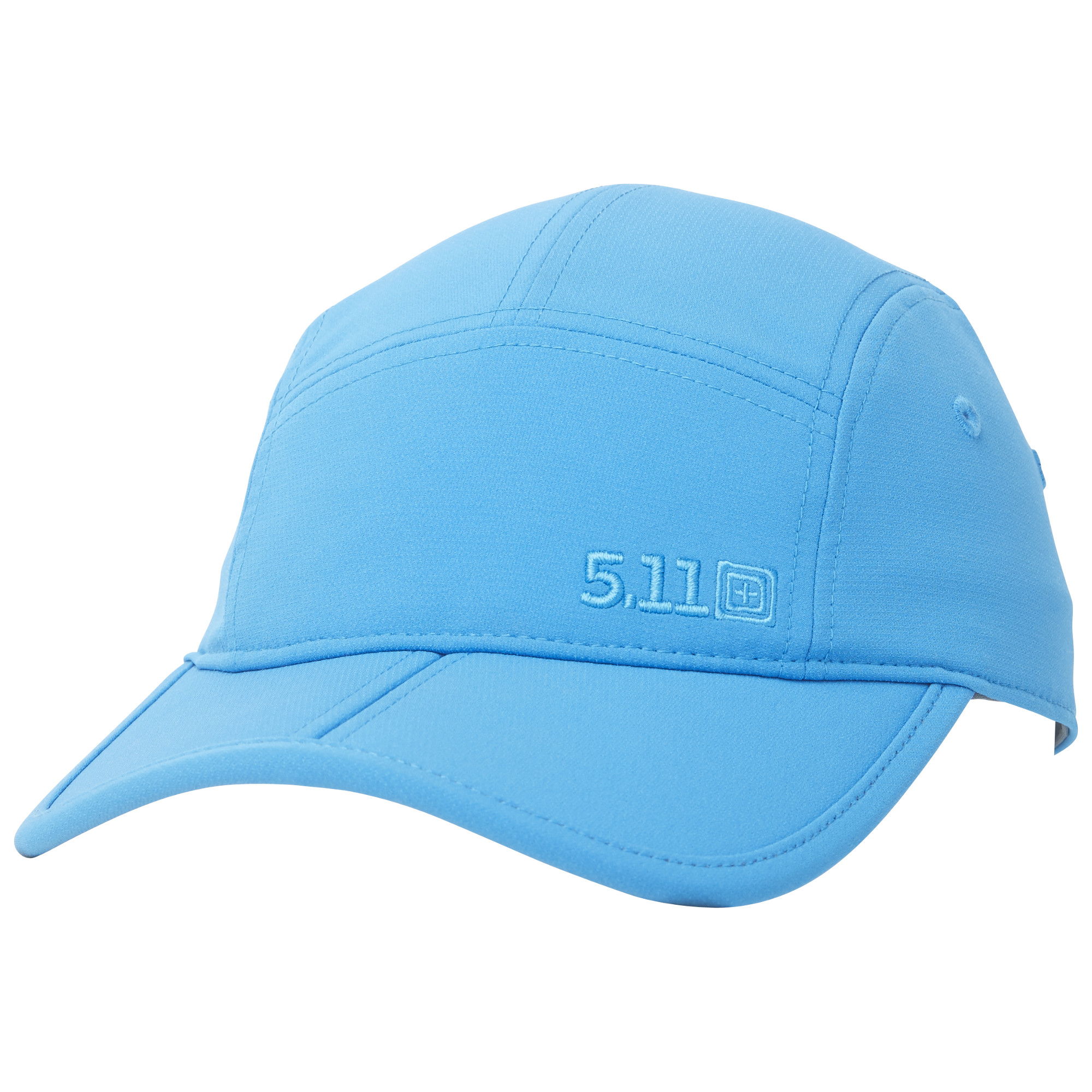 5.11 Tactical Men Bill Fold Cap (Blue)