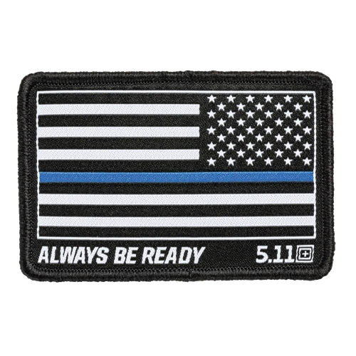 5.11 Molle Clip Thin Blue Line TBL 5.11 Patch Police Law Enforcement