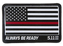 Thin Red Line Patch
