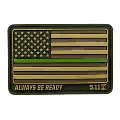 Thin Green Line Patch