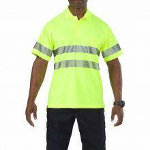 High-Visibility Short Sleeve Polo