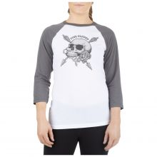 War and Roses Baseball Tee