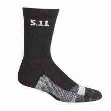 "Level I  6"" Sock - Regular Thickness in Black"