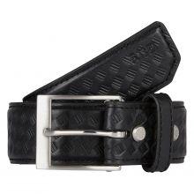 """1.5"""" Basketweave Leather Belt"""