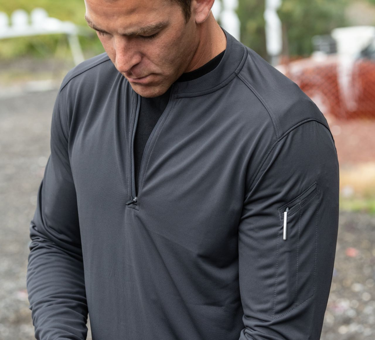 CATALYST 1/4 ZIP PULLOVER