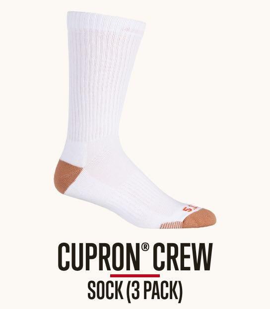 Cupron Crew Socks